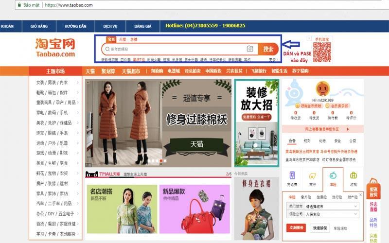 Cách order hàng Taobao không cần cọc
